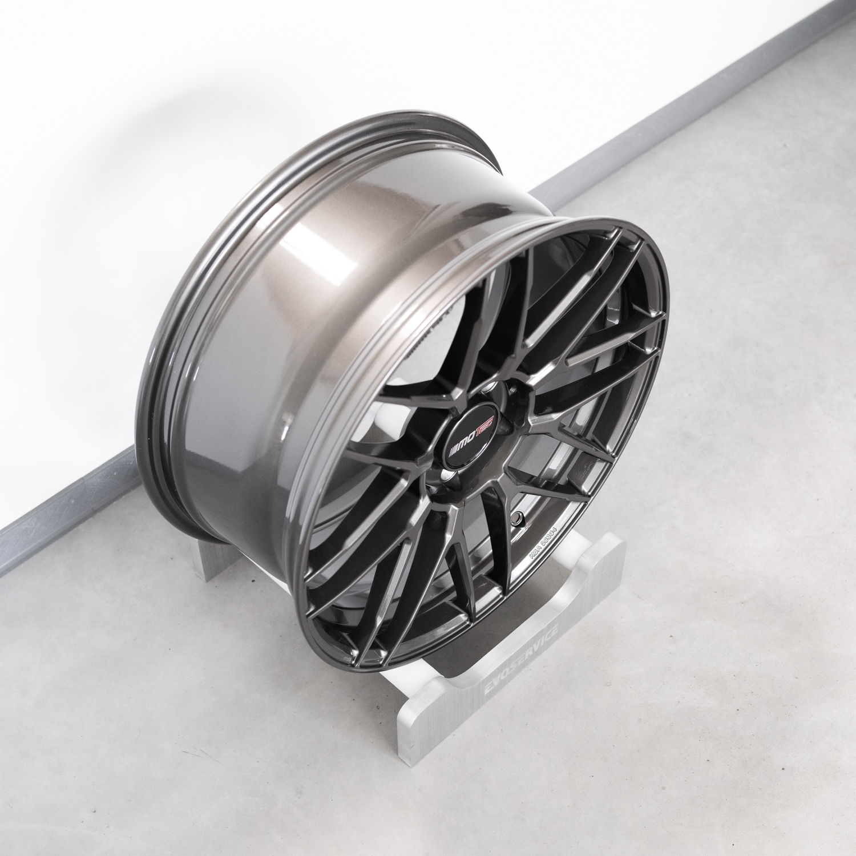 Motec MCR3 Hyper Mesh 8.5x19 ET45 steelgrey
