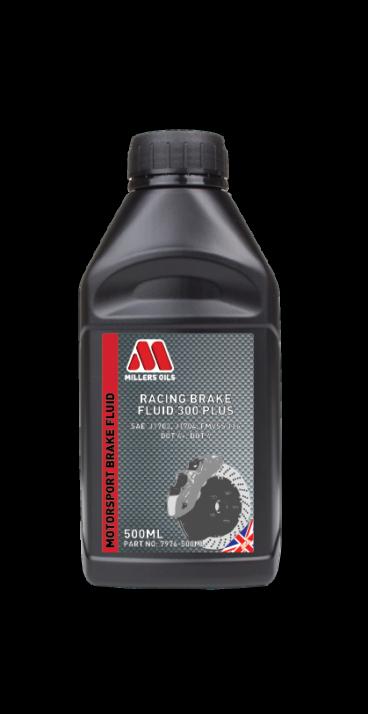 Millers 300+ Racing Brake Fluid Bremsflüssigkeit 0.5L